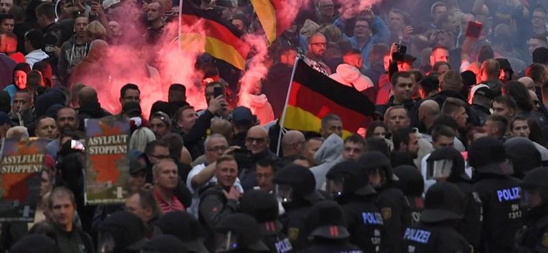 Németországban is terjed az idegengyűlölet