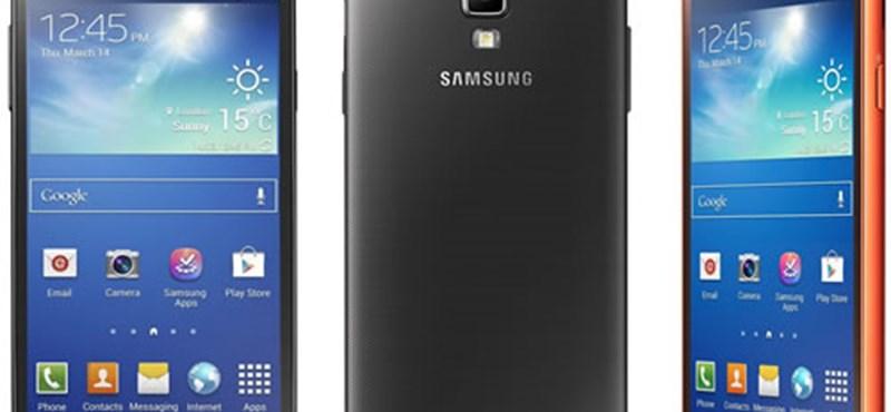 Itt a strapabíró Samsung csúcsmobil