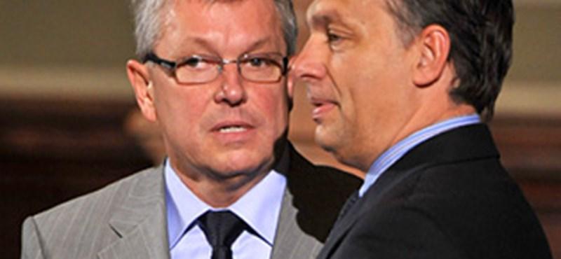 Nem volt összhangban Orbán és Matolcsy