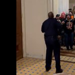 Hősként ünneplik a Capitolium rendőrségének egy tagját