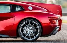 Retro húrokat penget ez a Ferrari-alapú új sportkocsi