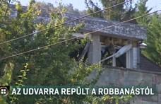Gázrobbanás repített ki egy férfit az ablakon Solymáron, válságos az állapota