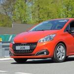 Új fogyasztási rekordot állított fel egy Peugeot 208-as