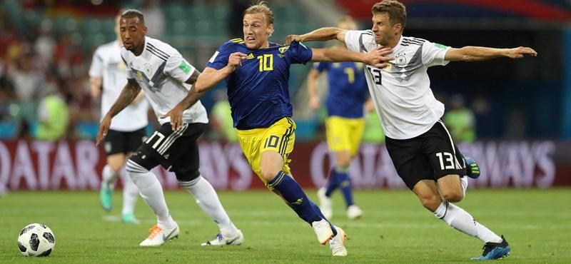 Németország – Svédország 2-1