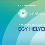 Indul a Zenebutik: Augusztus közepén indul a TV2-csoport új zenecsatornája