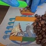 Kávészemekbe rejtette a kokaint az olasz drogcsempész