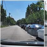 Vége az ingyenes parkolásnak, és ez jól látható az előtte-utána fotókon