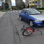Fotó: 89 éves biciklis férfit gázolt el egy autó Zalaegerszegen