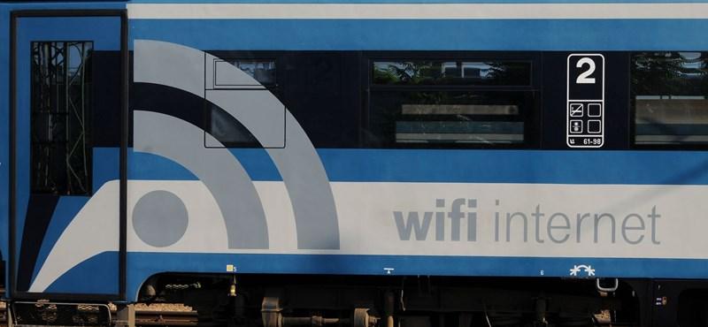 Mesés wifi a Budapest–Szeged vonaton