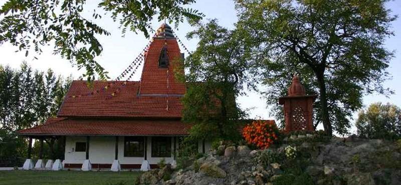 Hindu szentélyparkot avatnak Szeged mellett