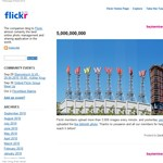 Flickr: ötmilliárd fényképen is túl