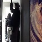 Rendőrök érkeztek a nő házához, aki riadót fújt az amerikai koronavírusos esetek miatt