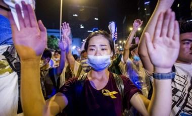 Occupy Hongkong: szerdán jön a fordulat?