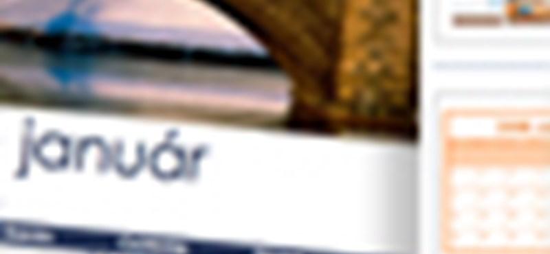 34999b9d7b Tech: Nyomtasson saját 2009-es naptárakat, ingyen - HVG.hu
