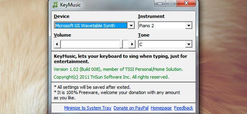 Zongorázzunk a PC billentyűzetével és tréfáljuk meg ismerőseinket is!