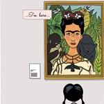Kedves Frida-képregénnyel buzdítja önmaguk elfogadására a gyerekeket egy művész