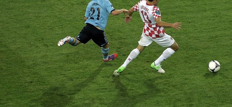 A horvátoknál a foci sorskérdés