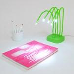 Friss, zöld íróasztallámpa