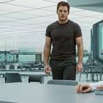 Jennifer Lawrence-ék idióta, de szerethető haláltáncot járnak az űrben