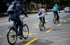 A BKK szerint kezdenek beindulni az új kerékpársávok