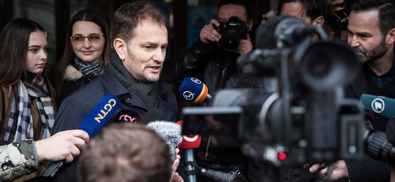 Megalakult az új kormány Szlovákiában
