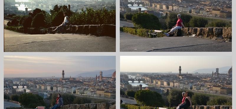 Mit csinál egy utazgató egyetemista, ha rálel anyukája fotóalbumára?