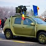 Íme a páncélozott, felfegyverzett Dacia Duster – fotók
