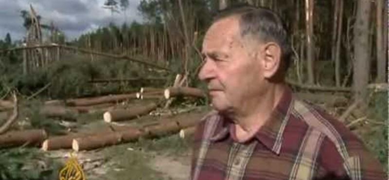 Videó: embert ölt a tornádó Lengyelországban