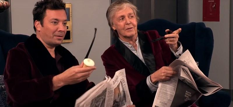 Mit tenne, ha Paul McCartney egyszer csak ott állna ön előtt? (videó)