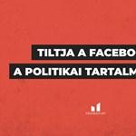 Facebook: Egyszerű technikai hiba volt a magyar politikusok visszafogása, de már elhárult