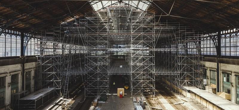 Így folyatódik a felújítás a Nyugati pályaudvarnál