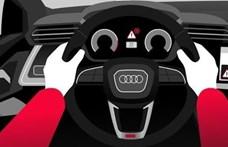 Előre jelzik majd a csúszós útszakaszokat az Audik