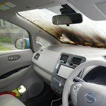Kigyulladt egy elektromos autó töltés közben Vas megyében