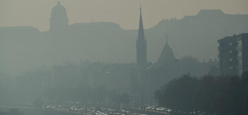 Veszélyes a levegő: országos szmogkörkép