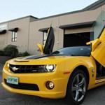 Camaro-limuzin épült Transformers-rajongóknak Ausztráliában - fotók