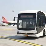 Elektromos busz is hordja az utasokat Ferihegyen