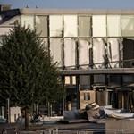 Robbantottak a dán adóhivatal előtt
