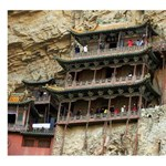 Elképesztő ez a kínai kolostor