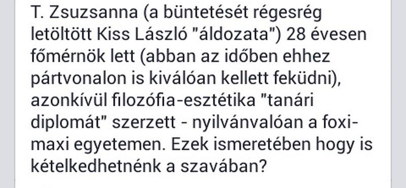 Lekommunistázták Kiss László áldozatát