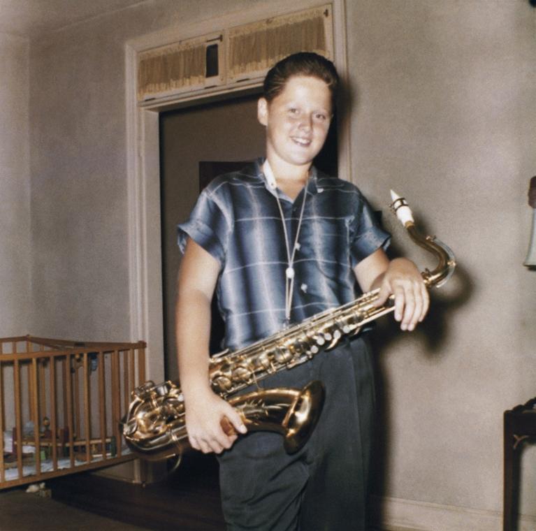 1958. - Bliin Clinton Hot Springsi otthonában, Arkansasan. - CLNTNAGY