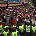Éhezők viadala - káosz Venezuelában