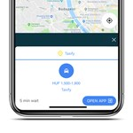 Ha Budapesten nyitja meg a Google Térképet, új funkciót talál benne: a taxizást