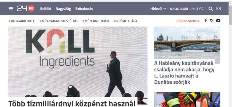 Új főszerkesztője lesz a 24.hu-nak