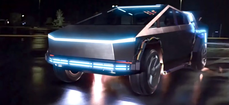 Ilyen lenne Cybertruckkal a Vissza a jövőbe - videó