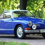 Vezettük a Volkswagen legszebb Bogarát, a Karmann Ghiát