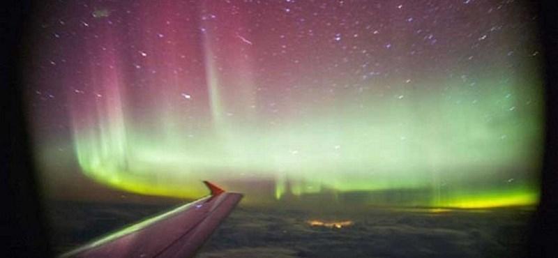 Gyönyörű: rakétát lőttek a sarki fénybe – videó
