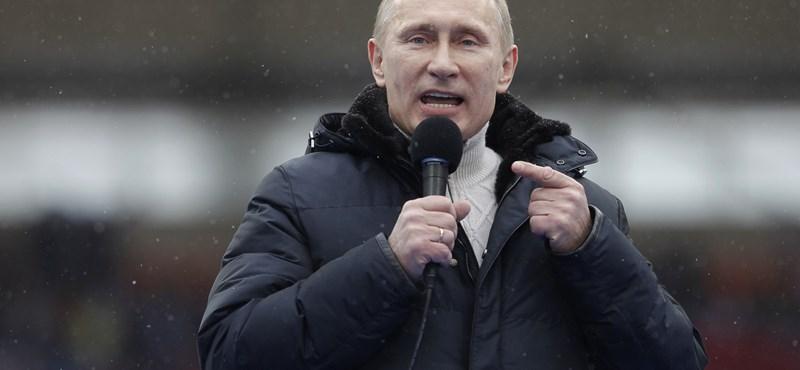 Putyin szerint a szép szó lehet a megoldás a szíriai helyzetre