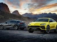Szupererős új divatterepjáró: videón a Lamborghini Urus Evo
