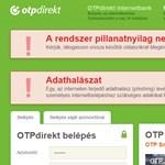Rövid időre megint leállt az OTP netbankja