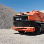 A Scaniának is van már olyan teherautója, amibe nem kell sofőr